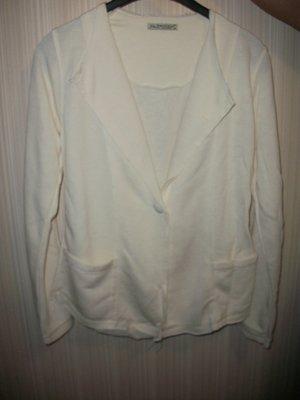 пиджак кофта оригинальный,белый,трикотаж,женский р.М, Л