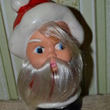 JUGOPLASTIKA Винтажная коллекционная кукла,игрушка ссср югопластика,дед мороз,гномик