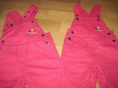 Красивые джинсовые комбинезончики Lupilu для девочек, р.62, чуть больше