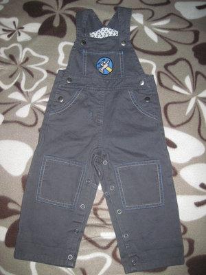 Красивые джинсовые комбинезончики Lupilu для девочек, р.62, мальчик р.74