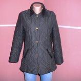 Легкая стеганая курточка весна-осень на синтепоне размер 8