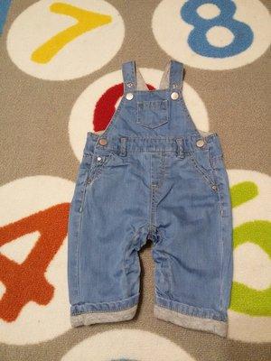 Крутой комбез под джинс от Zara на 1-3 мес., 56-62 см