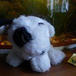 Очаровательный щенок Белый Бим черное ухо.