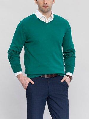 мужской свитер LC Waikiki изумрудного цвета