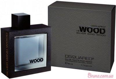 DSQUARED² He Wood Silver Wind Wood 100 мл для мужчин
