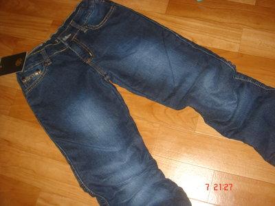 Утепленные джинсы девочкам ROBERTO CAVALI 146 11лет
