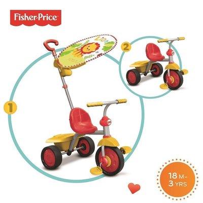 Смарт Трайк 2-в-1 Трехколесный велосипед Fisher-Price