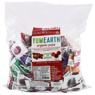 Органические леденцы YumEarth от IHerb Америка Разные
