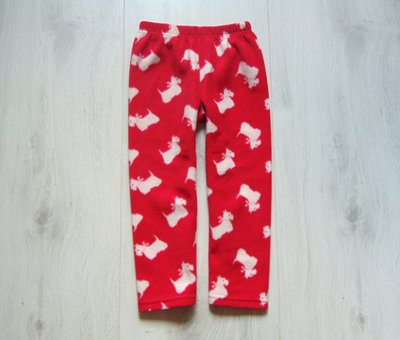 Тёплые флисовые штаники для девочки. John Lewis. Размер 5 лет. Состояние идеальное