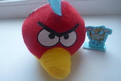 engry birds з відомого мультфільма, мяка іграшка