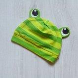Новая яркая шапочка для новорожденного. H&M. Размер 4-6 месяцев