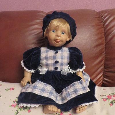 характерная кукла 38-40см Nines Donil