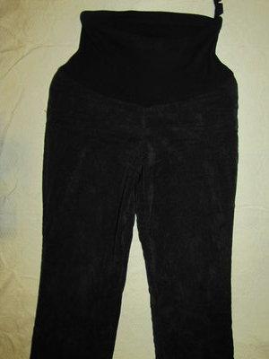 Зимние теплые вельветовые штаны для животика р. М