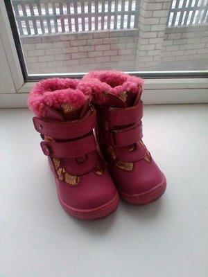 Сапоги для девочки 12-13см ногу