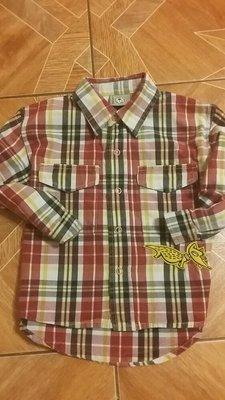 Продано: 12 мес модная рубашка в клетку