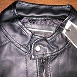 Мужская куртка Marisa кожзам демисезонная L и XL