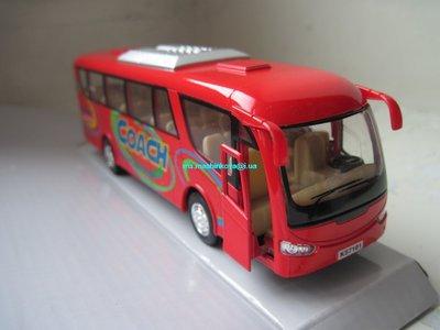 Автобус металлический 18 см KS7101