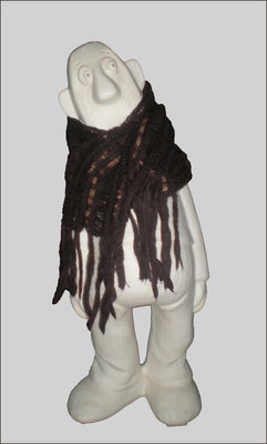 Теплый мохеровый шарф John Lewis из Италии