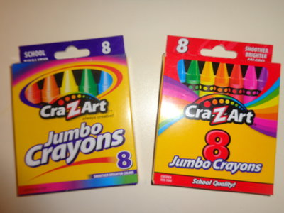 Восковые карандаши Cra-z-Art Jumbo Америка , 8 шт.