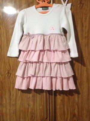 Платье с рюшечками для принцессы