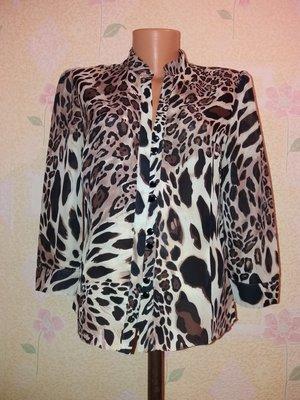 Шифоновая блуза л-хл