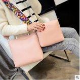 Стильная городская сумка с красочным поясом клатчем 2в1 В Наличии
