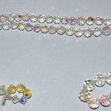 шикарное ожерелье бусы чешское стекло отличное состояние винтаж ссср