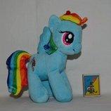 Фирменная плюшевая my little pony Hasbro литл пони лошадка оригинал Famosa Фамоса