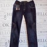 Новые модные джинсы,р.25