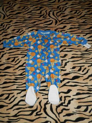 Флисовый человечек, пижама, пижамка, слип Картерс Carters .Новый.