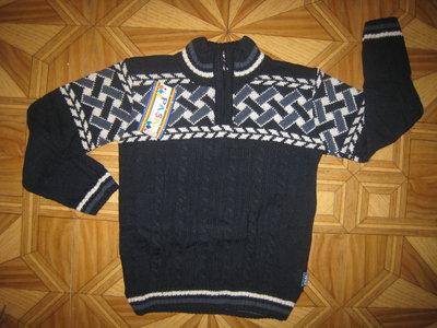 Детский теплый свитер на 3, 4, 5, 6, 7, 8, 9 лет