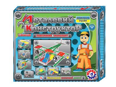 Конструктор металлический Воздушный транспорт Технок 1042