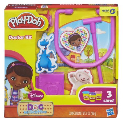 Пластилин Доктор Плюшева Play-Doh Doctor Kit Featuring Doc McStuffins