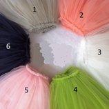Очаровательная длинная юбка 90-150 фатиновая для маленькой леди
