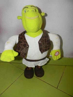 игрушка Шрек на батанейках б/у
