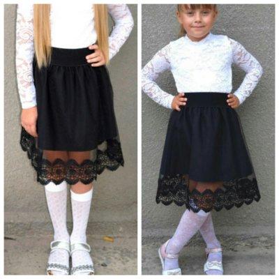 Детская юбка для школы 2 р. 116-152