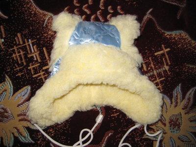Детская новая зимняя шапка на новорожденного