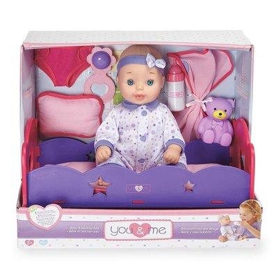 Baby with Bed Deluxe Set Пупс с кроваткой