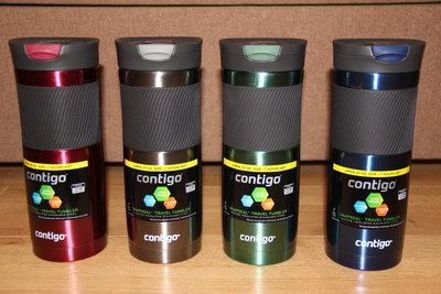 Термокружка Contigo SnapSeal Byron 20 oz 590 мл 4 цвета в наличии