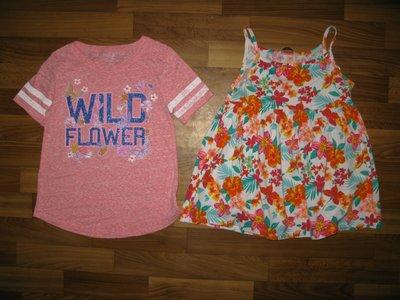 футболки и майки девочке на 6-9 лет