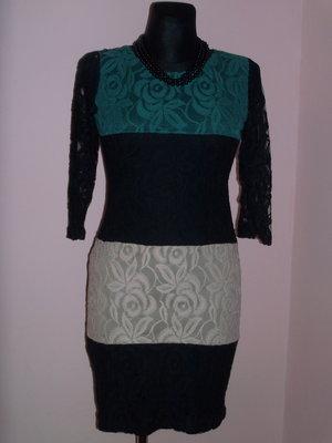 Продано: Платье с гипюром фирмы Pole Pole р. 44, 46, 48