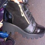 Продам ботинки женские зимние,деми кожа 3 модели