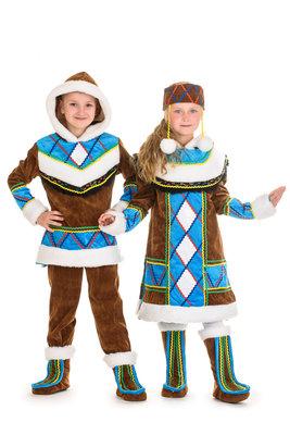 Прокат костюм ескімос, ескімоска, эскимос, эскимоска - Позняки