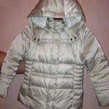 Теплый пуховик куртка пальто Geox Respira Италия