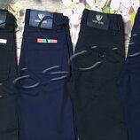 Хлопковые штаны на рост от 116 до 170 на худеньких