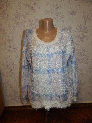 F&F женственный свитер, стильный, модный, нежный, мягкий и теплый, рр 12