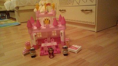 Конструктор дворец принцессы Ecoiffier.