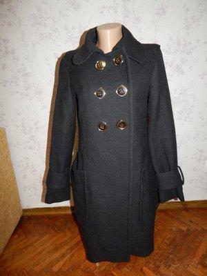 ZARA пальто 99% шерсть стильное модное рp M