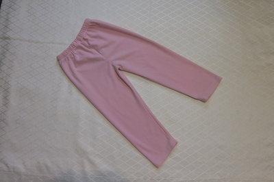 Брюки пижамные на девочку 5-6 лет 110-116 см , флис,