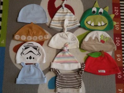 Крутые шапочки коттон на малышей от 0 до 18 мес.